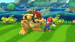 Agarre de Bowser (2) SSB4 (Wii U)