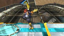 Ataque fuerte hacia arriba Captain Falcon SSBB (1)