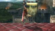Ataque fuerte superior de Ike (2) SSB4 (Wii U)