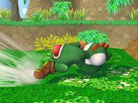 Ataque rápido Yoshi SSBB