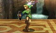 Burla inferior Link SSB4 (3DS)