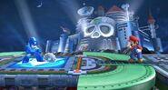 Metal Blade hacia abajo SSB4 (Wii U)