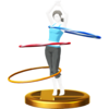 Trofeo de Aros mágicos SSB4 (Wii U)