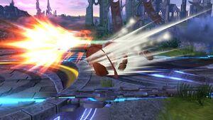 Ataque en carrera Tirador Mii SSB4 Wii U