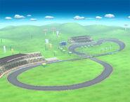 Circuito Mario vista completa SSBB