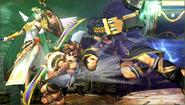 Créditos Modo Senda del guerrero Pit Sombrío SSB4 (3DS)
