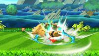 Lanzamiento hacia abajo de Bowser (2) SSB4 (Wii U)