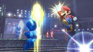 Mega Man y Mario en Ring de Boxeo SSB4 (Wii U)
