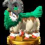 Trofeo de Gogoat SSB4 (Wii U)