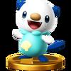 Trofeo de Oshawott SSB4 (Wii U)