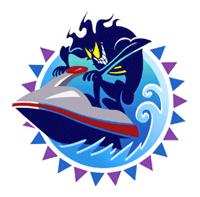 Pegatina de Wave Race Blue Storm SSBB