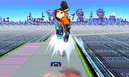 Tirador Mii Gancho Cohete SSB4 (3DS)