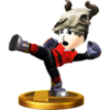 Trofeo de Karateka Mii (alt.) SSB4 (Wii U)