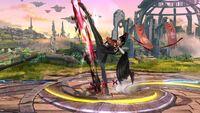 Ataque Fuerte Lateral Bayonetta (3) SSB Wii U