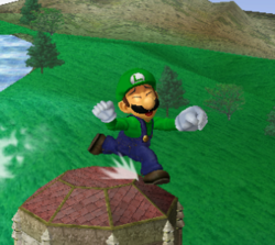 Ataque rápido de Luigi SSBM