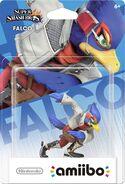 Embalaje del amiibo de Falco (América)