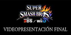 Logo Super Smash Bros. Videopresentación final