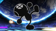 Mr. Game & Watch en Destino Final SSB4 (Wii U)