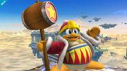 Rey Dedede en el Campo de Batalla (2) SSB4 (Wii U)