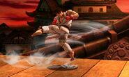 Ryu realizando Tatsumaki Senpukyaku SSB4 (3DS)