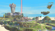 Vista general de Altárea SSB4 (Wii U)