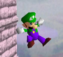 Ataque aéreo normal de Luigi SSB