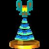 Trofeo de Jefe de Galaga SSB4 (3DS)