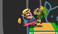 Agarre de Wario SSB4 (3DS)