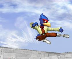 Ataque rápido de Falco SSBM