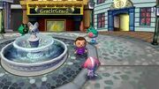 Ciudad en Animal Crossing City Folk