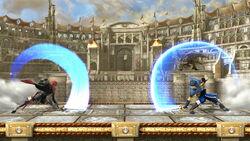 Comparacion Marth y Lucina SSB4 (Wii U)
