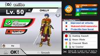 Estadisticas del amiibo SSB4 (Wii U) (1)