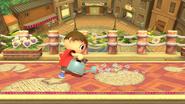 Leñador (2) SSB4 (Wii U)