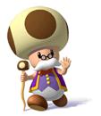 Pegatina de Maestro Kinopio Super Mario Sunshine SSBB