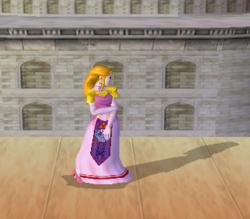 Pose de espera de Zelda (2-3) SSBM