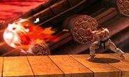 Ryu realizando Shakunetsu Hadoken SSB4 (3DS)