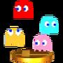 Trofeo de Fantasmas (PAC-MAN) SSB4 (3DS)