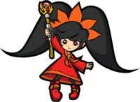 Artwork de Ashley en WarioWare Smooth Moves