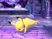 Ataque fuerte lateral Pikachu SSBB
