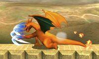 Ataque normal de Charizard (1) SSB4 (3DS)
