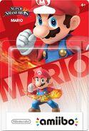 Embalaje del amiibo de Mario (América)