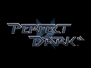 Pantalla de titulo de Perfect Dark (N64)