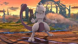Pose de espera 1 Mewtwo (1) SSB4 (Wii U)
