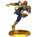 Trofeo de Captain Falcon SSB4 (3DS)
