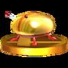 Trofeo de Escarabajo de oro iridiscente SSB4 (3DS)