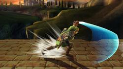 Ataque Smash lateral Link SSBB (2)