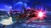 Ataque en Carrera Bayonetta SSB Wii U