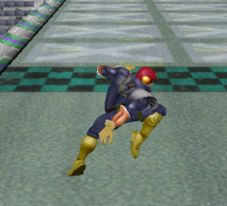 Ataque normal de Captain Falcon (3) SSBM