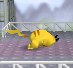 Ataque normal de Pikachu SSB
