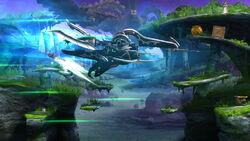 Cara Metálica Embestida SSB4 (Wii U)